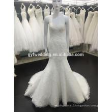 Floor-Length Hemline lace and OEM Service Supply Type Wedding Dress/ Sweetheart Bridal Wedding Gown VW257-1