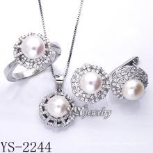 La venta directa de la fábrica de la joyería de la manera fijó la plata 925 (YS-2240)