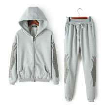 Sportbekleidung OEM Plus Size Trainingsanzug, Fashion Embroideried Trainingsanzug, Printing Sport Trainingsanzug