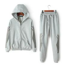 Sportwear OEM Plus Size Tracksuit, Fashion Embroideried Tracksuit, Printing Sport Tracksuit