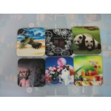 2015 Beautiful Promotional 3D Cup Coasters