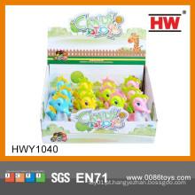 2015 Novas idéias promocionais Gift Idéias Wind Up Animal Com Candy Toy