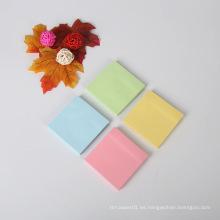 Diseño personalizado promocional Papel impreso Impreso 4C Die Cut Notas adhesivas personalizadas Bloc de notas