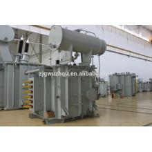 Transformateur monophasé 12 MVA de 12000tpy FeSi Furnace au four à arc d'acier