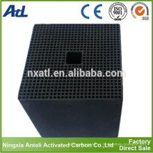 filtro de aire de panal de carbón activado utilizado para el hogar privado