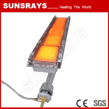 Infrared Gas Heater for Singeing Frame