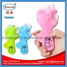 Bunte 6X4X14cm Handheld Fan Spielzeug mit 3 Farben