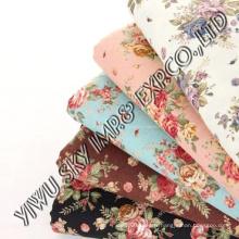Rose Flower Design pour le tissu imprimé à la maison