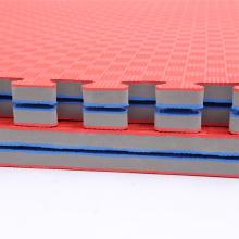 Tapis Tatami rouge bleu de haute densité de 3.0cm EVA