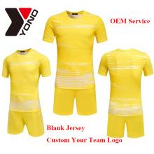 2017 wholeasle thai qualidade de futebol jersey personalizado seu logotipo uniforme de futebol kit