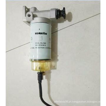 Filtro de combustível PC200-8 600-319-3610 Peças de filtro