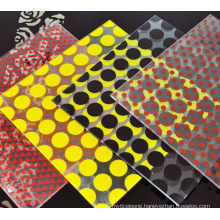 Silkscreen Digital Printing Color Glazing Ceramic Frit Biggest Size Glass