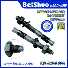 Made in China High Quality Concrete Wedge Anchor/Expansion Anchor