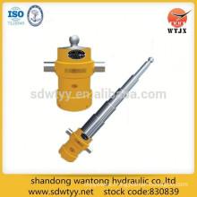 telescopic hydraulic cylinder for tipper truck