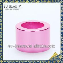 18mm glänzender rosa Aluminiumkragen
