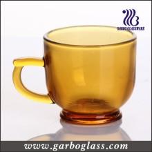 Solid Color Mug, Amber Glass Mug