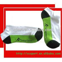 Calcetines de los deportes del tobillo del algodón de los hombres de encargo