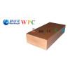 Vigueta de 90 * 40m m WPC producida por la máquina compuesta plástica de madera