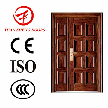 Haupteingang Stahl Doppelte Tür