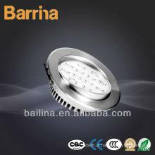 Luminária de lâmpadas de teto de LED 15W