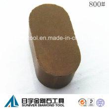 Segmento de ligamento de resina 800# para moler rueda de pulido
