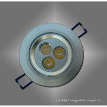 White/ Warm White LED Ceiling Spot Light 3W for Housing Long Lifespan