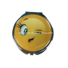 Мода милый Emoji дешевые дизайн косметическое зеркало