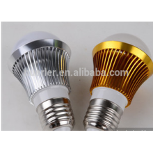 3leds led bulbs 2 years warranty 3w aluminum e26/b22/e27 led light bulb