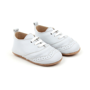 Blue Soft Sole Baby Kids Oxford Zapatos