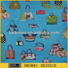 fashion printed cotton canvas fabric