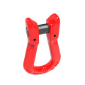high quality alloy steel G80 clevis long type Omega Link For Chain