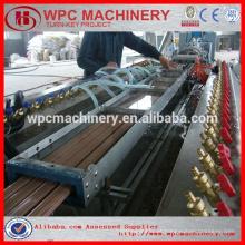 Plástico de madeira WPC linha de produção de perfil / WPC bordo máquina / WPC decking extrusora linha / WPC máquina