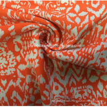 Оранжевый печать ткань для спортивной одежды (HD1401101)