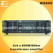 MS800 PA PRO Karaoke Audio Amplificateur 800W