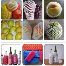 Mangas de psiquiatra de espuma de embalagem expansível para frutas e garrafa de vinho