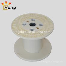 bobina de plástico vazia para fio de cabo elétrico