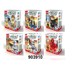 Nuevo juego de bloques de juguete DIY (6ASS) (903910)
