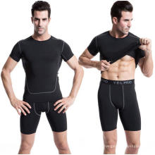 Camiseta deportiva para hombre Fitness Ropa deportiva Activewear de manga corta