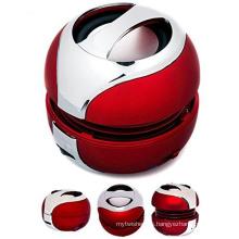 Altavoz profesional sin hilos de Bluetooth del color rojo mini