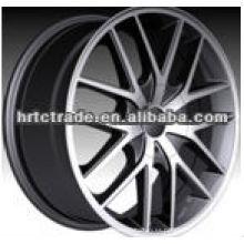Black amg american racing car wheel para el benz