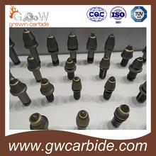 Tungsten Carbide Bullet Tooth Shaped Bit / Coal Cutter Pick/ Conical Bit