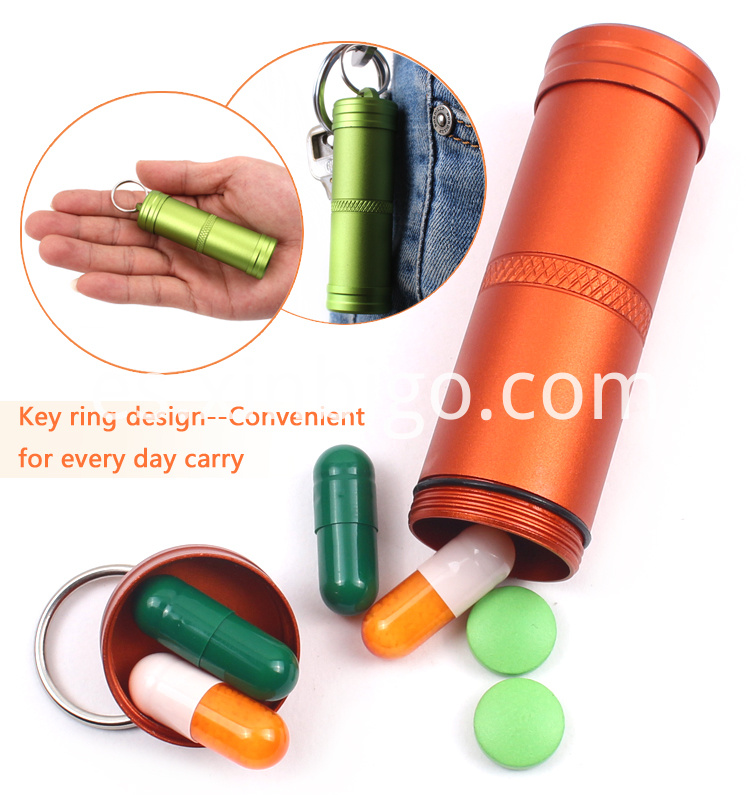 Waterproof Pill Container