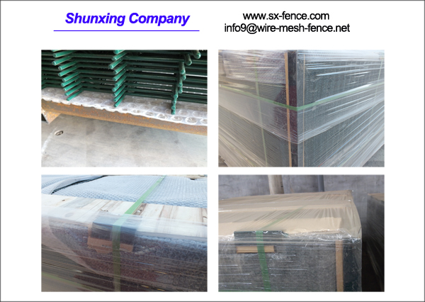 packing of wire mesh fence 1