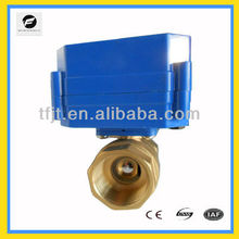 HVAC and fire works motorized valve DN8 ato DN32 lower current can replace solenoid valve for HVAC and Fan coil system