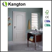 Primer blanco moldeado puerta HDF interior (puerta HDF)