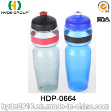 750ml Biking BPA Free Plastic Sport Water Bottle, PE Plastic Running Water Bottle (HDP-0664)
