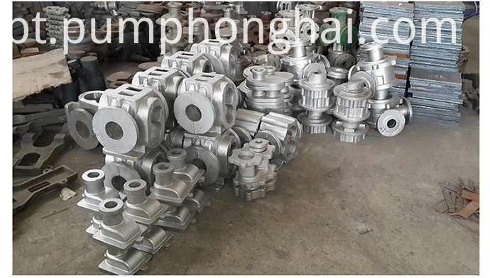 Yhcb Series Energy Saving Arc Gear Pump Material