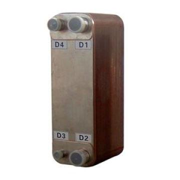 Gelöteter Plattenwärmetauscher gleich Alfa Laval Zl052q