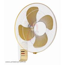 16 '' avec 4 ventilateurs muraux puissants à lame métallique