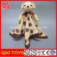 baby blanket manufacturers china dog stuffed plush animal head blanket